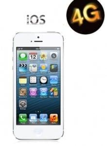 iphone 5 4G orange