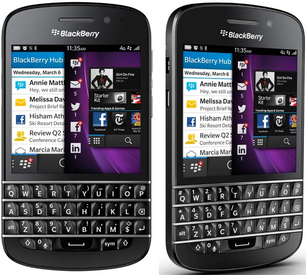 Blackberry Q10 este disponibil pentru precomanda la Orange