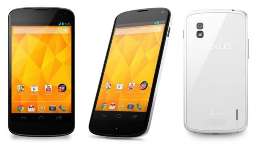 LG Nexus 4 Alb, anuntat astazi oficial