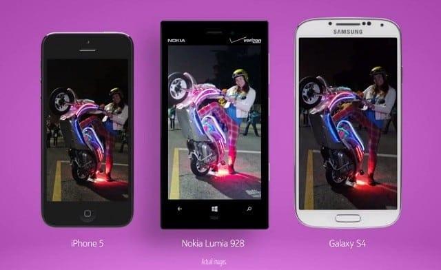 lumia92 galaxy s4 iphone 5