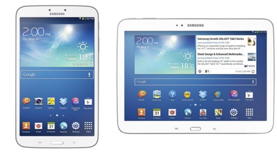 Samsung lanseaza o noua serie Galaxy Tab 3, cu procesoare Intel si ecrane de 8 si 10.1 inci