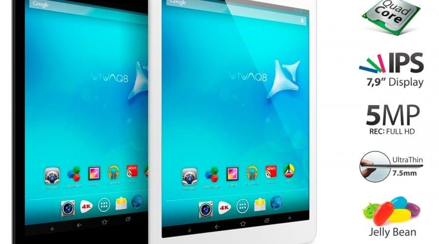 Allview lanseaza doua noi tablete Quad-Core de 7 si 8 inchi, Viva Q7 si Viva Q8