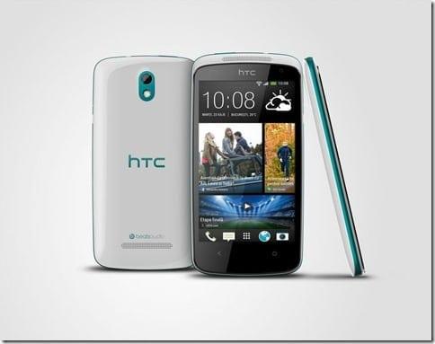 HTC Desire 500 albastru