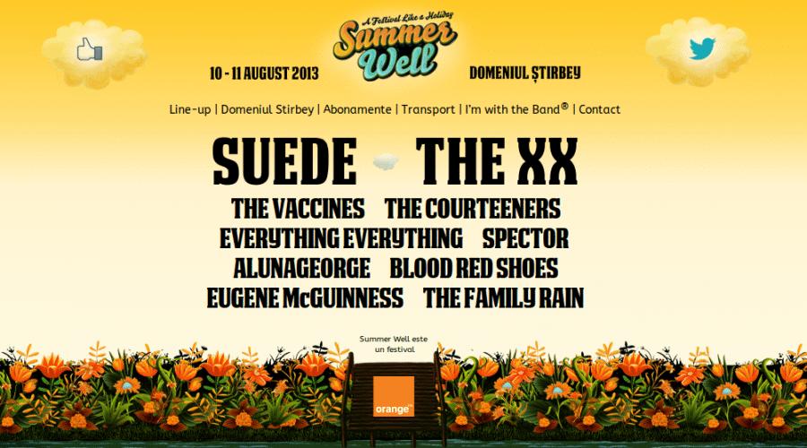 Orange aduce in weekend festivalul Summer Well