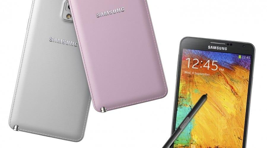 IFA 2013: Samsung lanseaza Galaxy Note 3 – ecran de 5.7 inchi, spate din piele, procesor Snapdragon 800, 3 GB memorie RAM