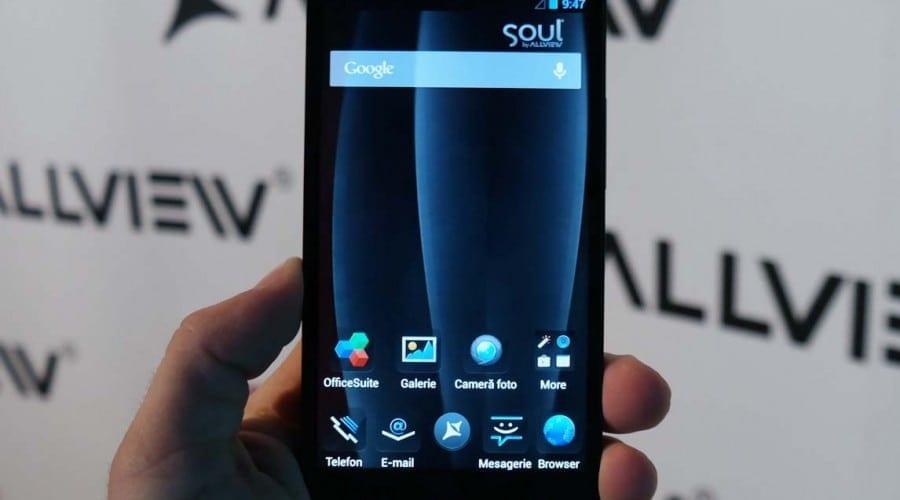VIDEO Allview lansează X1 Soul. Primul terminal cu un singur SIM al companiei vine cu procesor quad-core, camera de 13 MP și gesturi inteligente