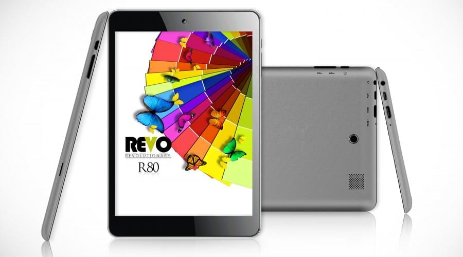 E-Boda lansează tableta Revo R80 – ecran de 7.85 inchi, procesor quad-core la 1.2 GHz, 1 GB memorie RAM