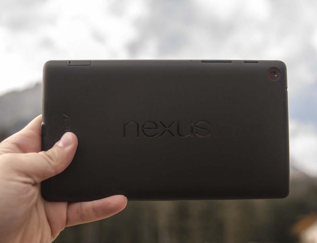 asus nexus 7 2013 back