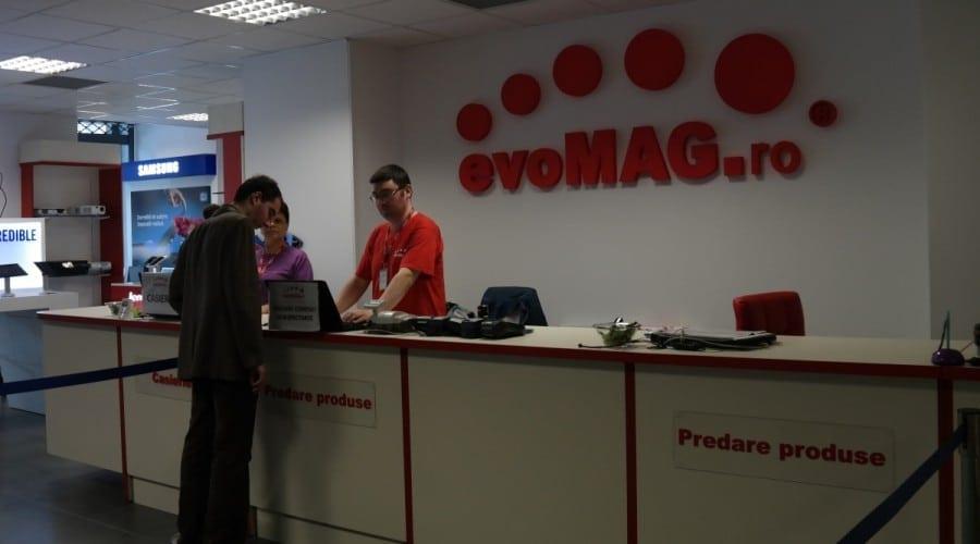evoMAG estimează o creștere cu 30% în 2013. Retailerul online a deschis un nou showroom și plănuiește extinderea în țară