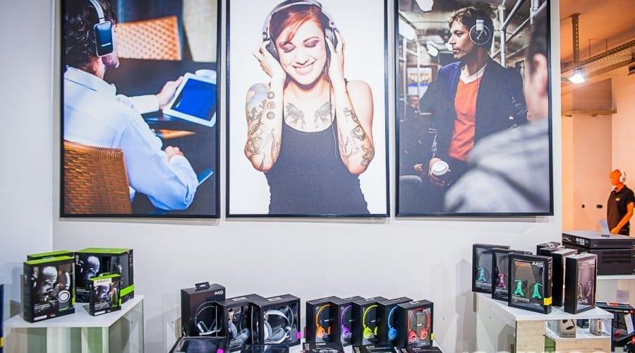 Produsele Harman Kardon, JBL și AKG pot fi văzute în noul showroom SoundMasters