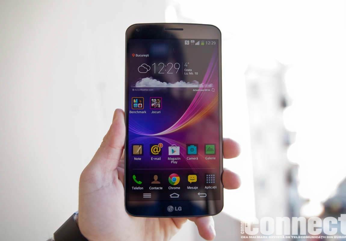 LG G Flex primește update la Android 4.4 KitKat în Coreea de Sud