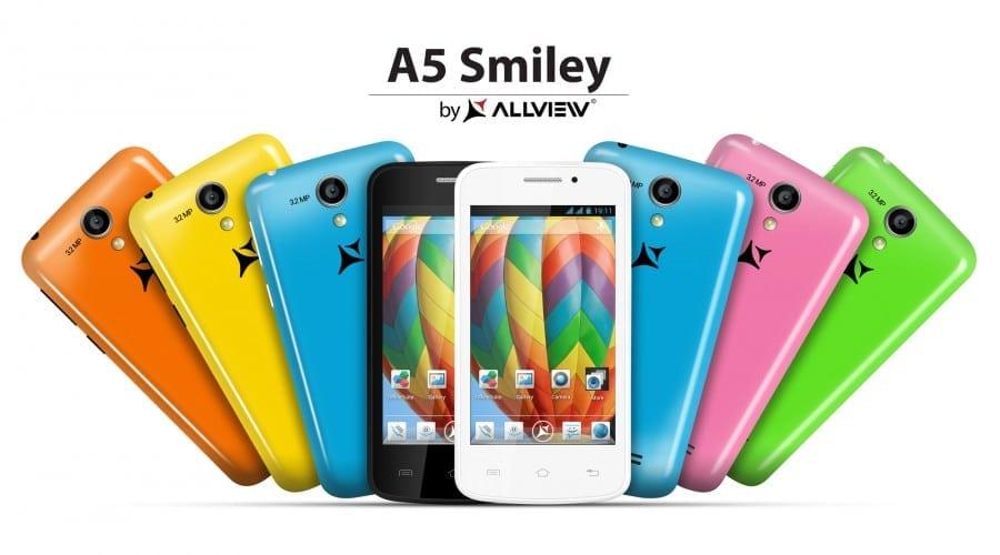 Allview lansează două smartphone-uri ieftine cu procesor dual-core, A4 You și A5 Smiley
