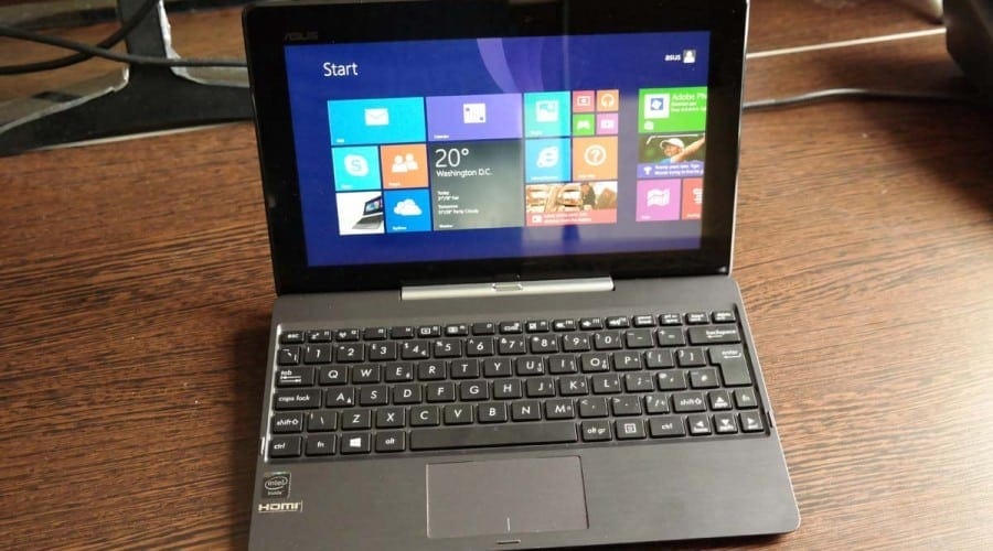 Asus Transformer Book T100 review: un convertibil rasat