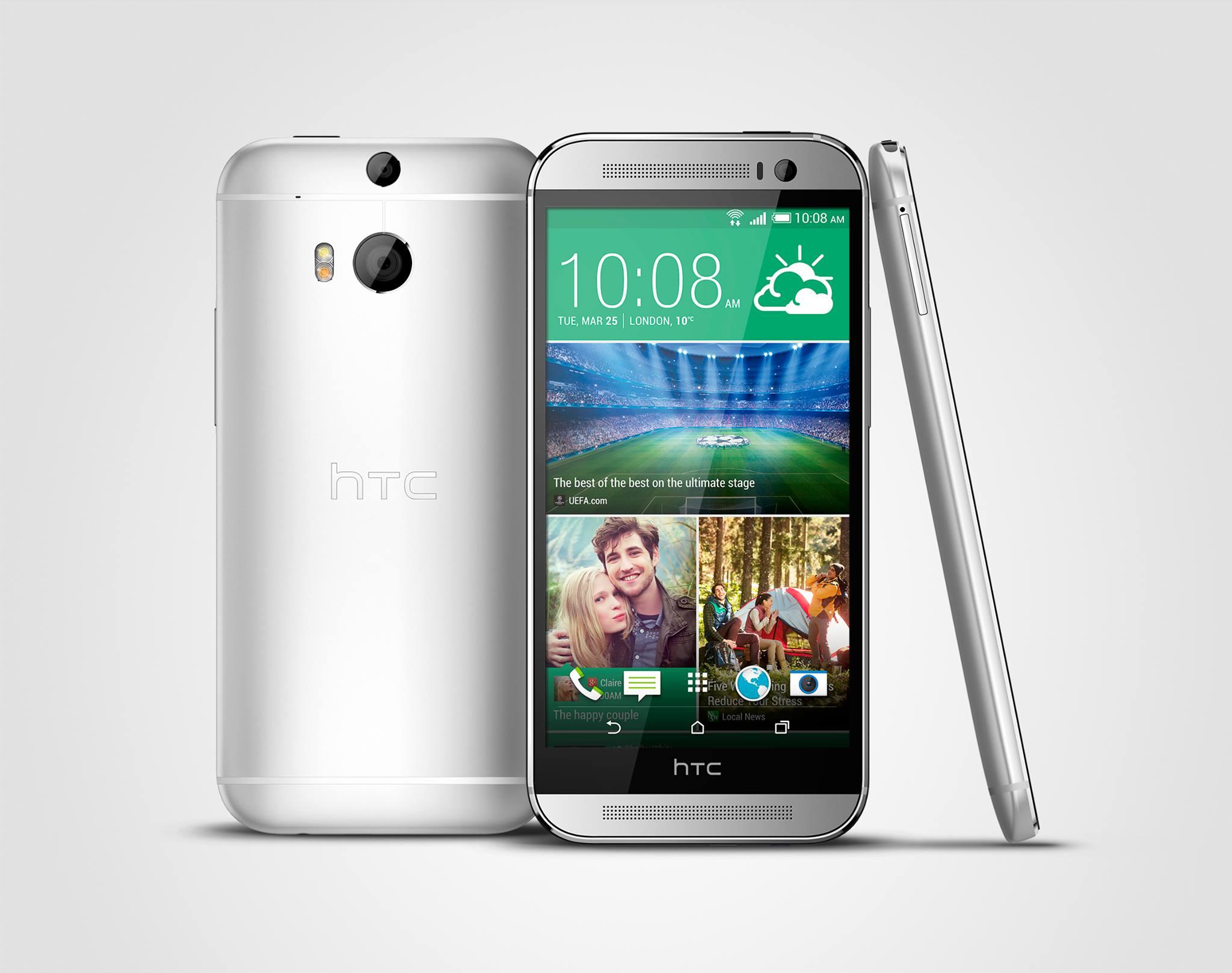 HTC One M8, disponibil în România la magazinele online