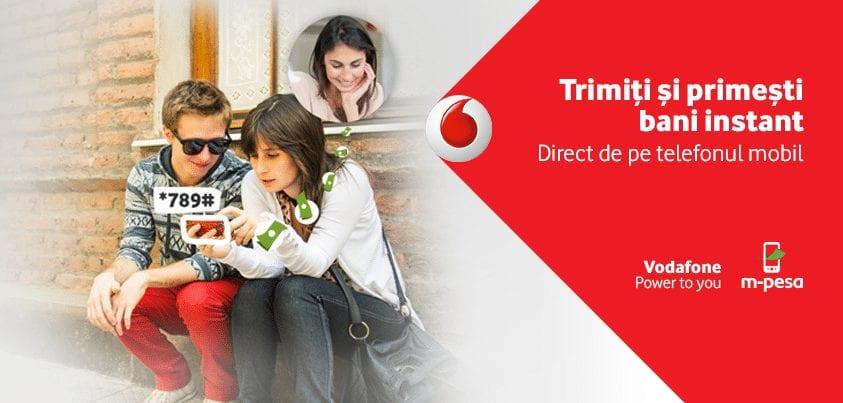 Serviciul Vodafone M-Pesa are o nouă funcționalitate