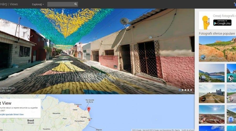 Google actualizează imaginile Street View din România