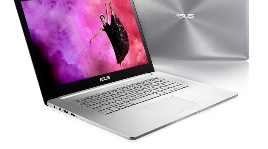 ASUS Zenbook NX500: o nouă carcasă din aluminiu și ecran tactil 4K/UHD