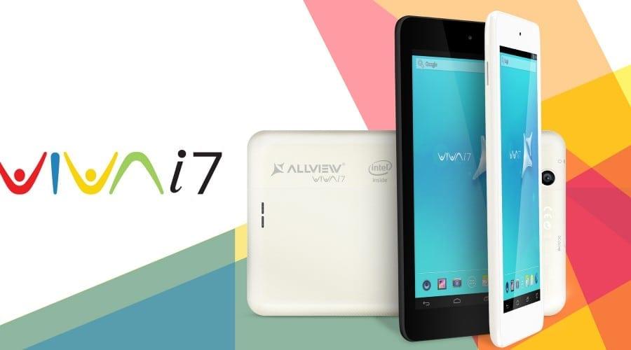 Allview lansează Viva I7, o tabletă ieftină cu procesor Intel Atom