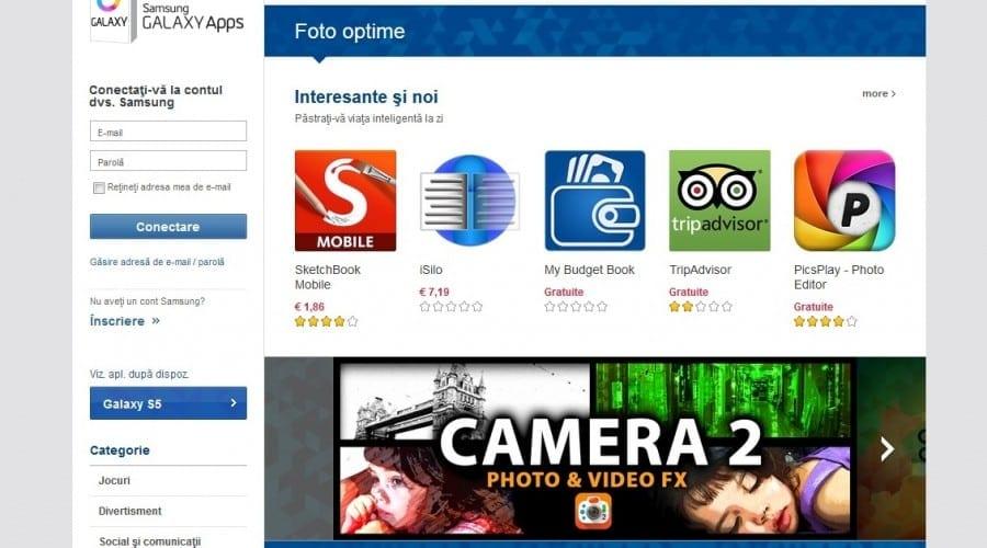 Samsung GALAXY Apps, un app store creat special pentru utilizatorii de dispozitive Galaxy