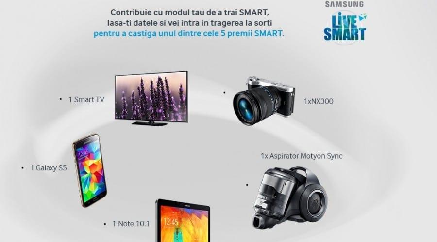 Samsung te provoacă să trăiești SMART