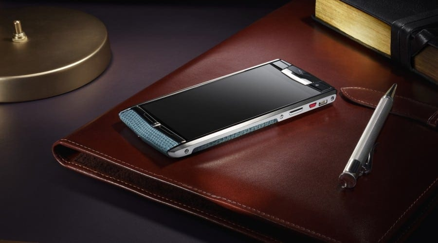 Vertu Signature Touch: smartphone high end suprem