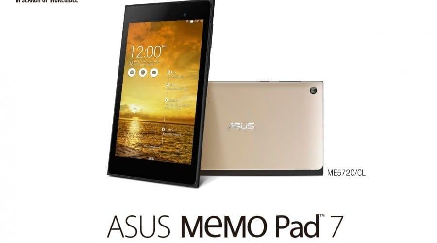 #IFA2014: Asus Memo Pad 7 (ME572C) devine mai elegantă, rulează un procesor Intel pe 64 de biți