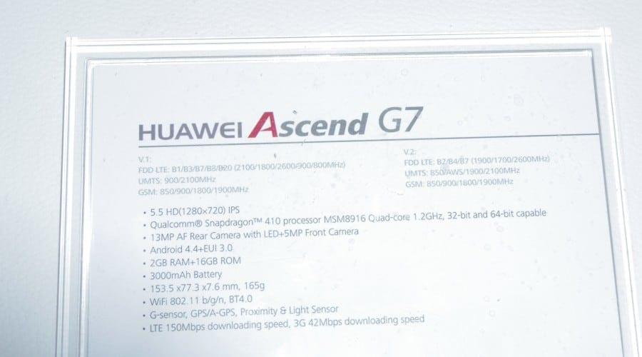#IFA2014: Huawei a lansat Ascend Mate7 și Ascend G7