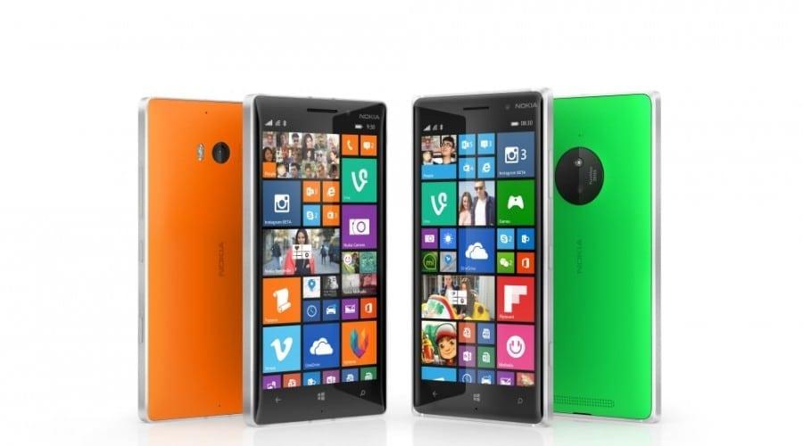 Lumia 830 și Lumia 735 intră pe piață