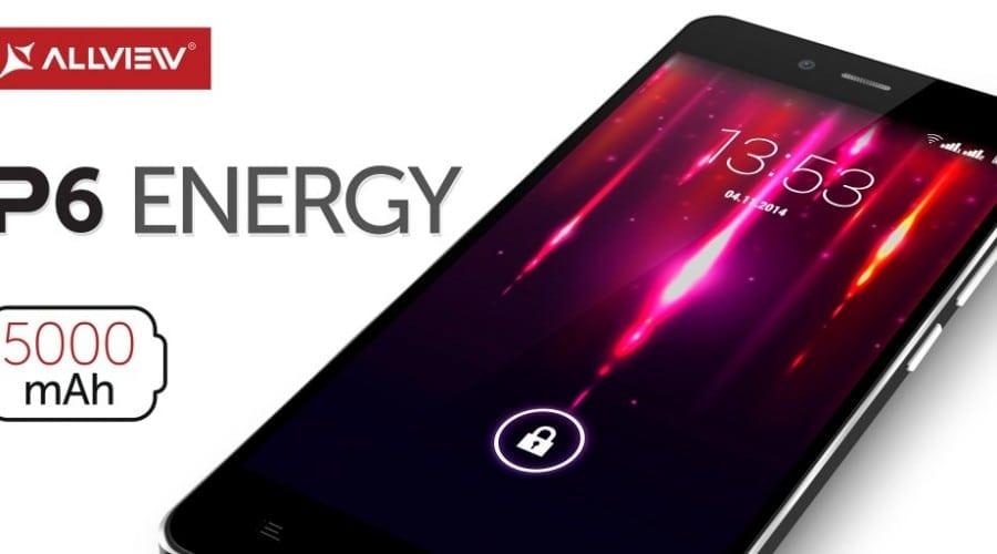 Allview P6 Energy, un smartphone cu baterie de 5000 mAh