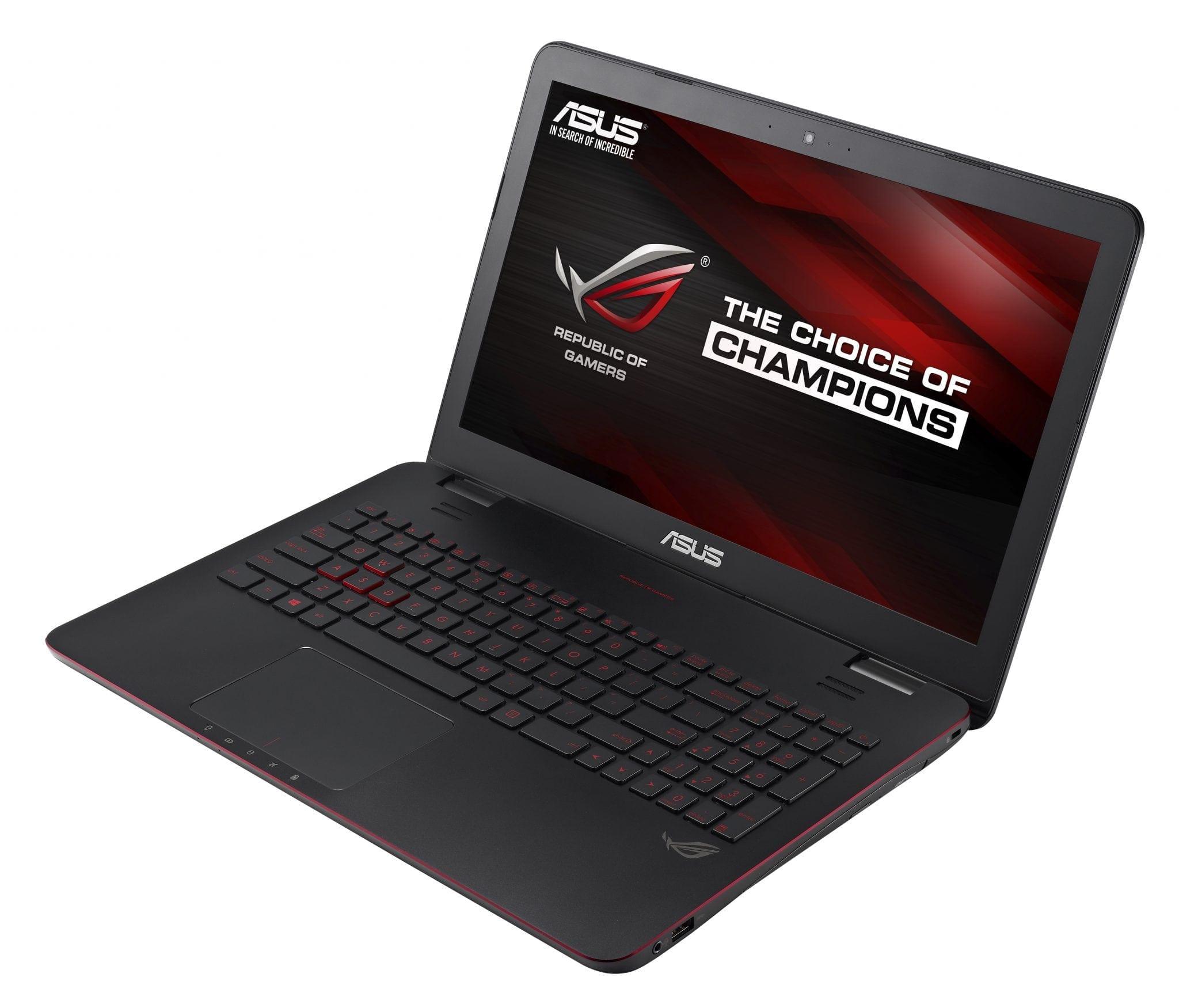 ASUS ROG G551: review cu cel mai ultraportabil laptop de gaming