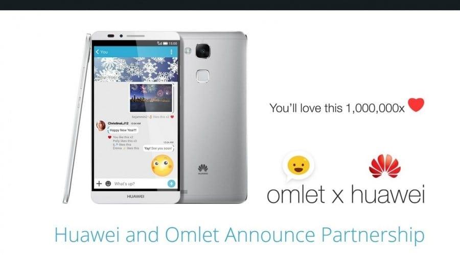 #CES2015: Huawei și Omlet devin parteneri, platforma de socializare va fi preinstalată pe viitoarele dispozitive mobile
