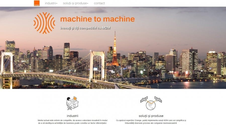 Orange lansează platforma M2M Control