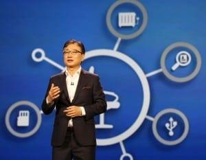 Samsung CEO BKYOON