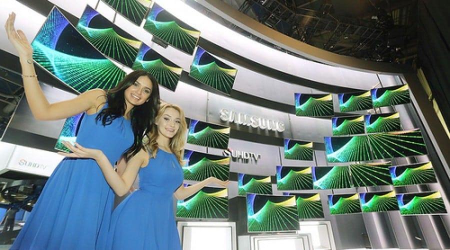 Samsung a primit 80 de premii la CES 2015