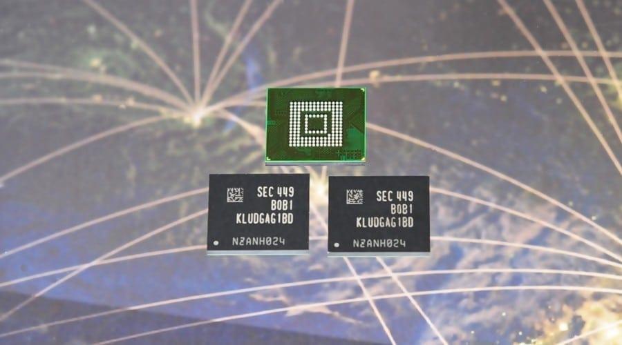 Samsung lansează prima memorie UFS de 128 GB pentru smartphone-uri