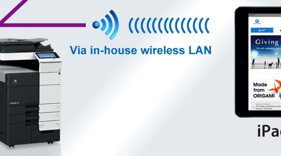 Konica Minolta lansează  patru noi soluții de printare wireless