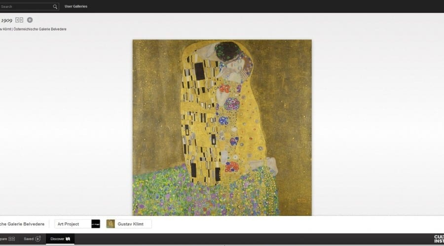 Google Cultural Institute propune o incursiune în artă de Valentine's Day