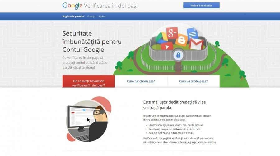 """De """"Ziua siguranței pe Internet"""" Google propune să vă verificați securitatea contului"""