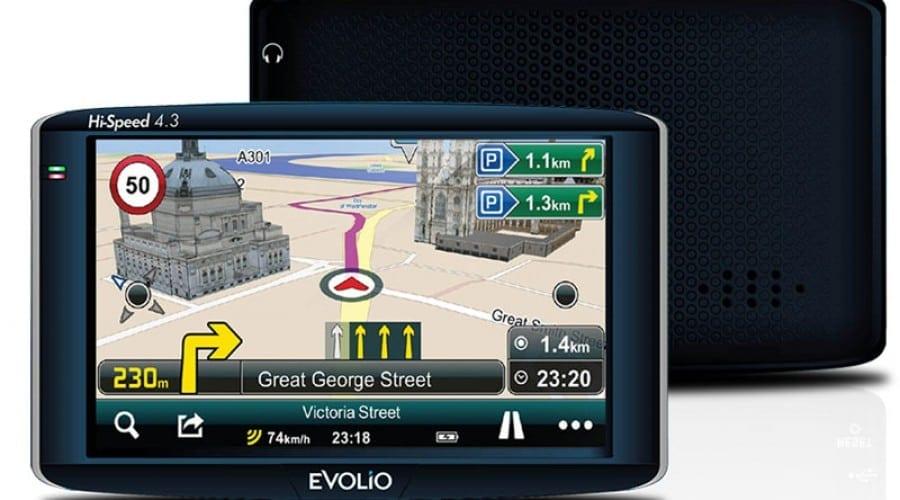 Evolio lansează un GPS auto cu update gratuit pe viață