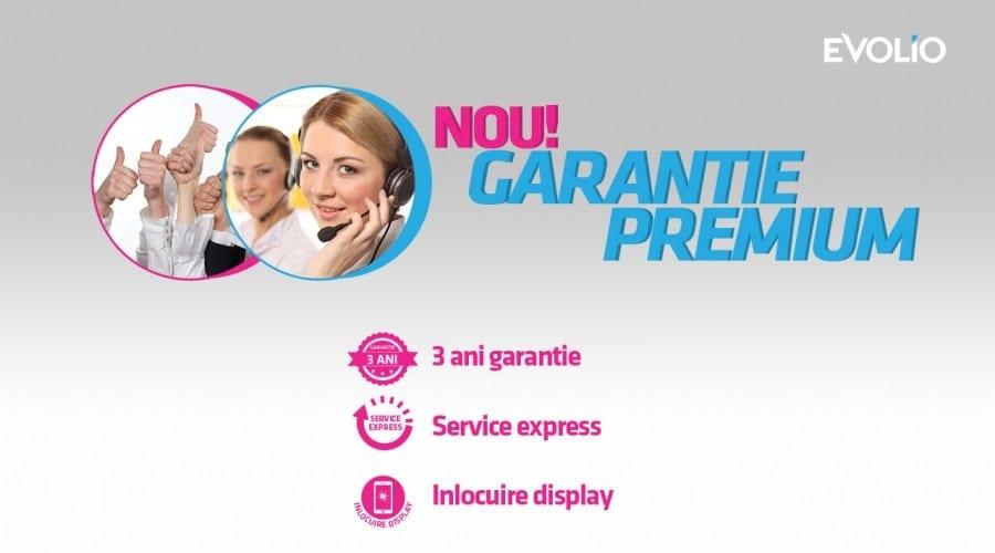 Evolio lansează Garanția Premium de 3 ani, cu express service și schimbarea gratuită a display-ului spart