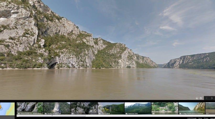De la Bratislava la Cernavodă: o croazieră pe Dunăre cu Google Street View