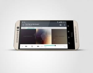 HTC One M9 Silver PerL
