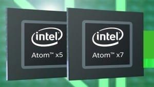 Intel Atom x5 si x7