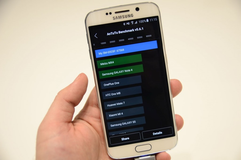 Samsung Galaxy S6 Unpacked 2497 1024x678 Samsung Galaxy S6 și Galaxy S6 Edge: Primele impresii cu cele două telefoane