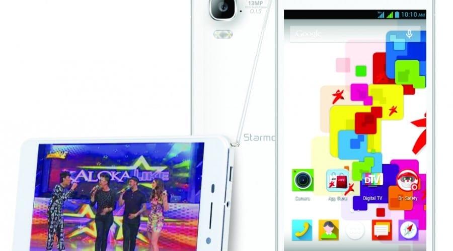 Starmobile lansează modelul Knight Vision, un smartphone Android cu receiver DTV