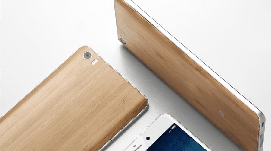 Xiaomi a lansat Mi Note Natural Bamboo