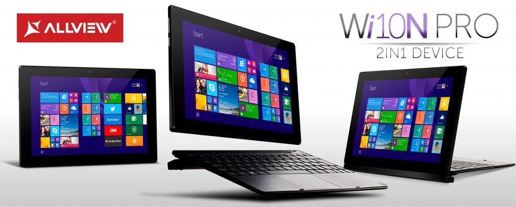 Allview introduce tableta WI10N PRO