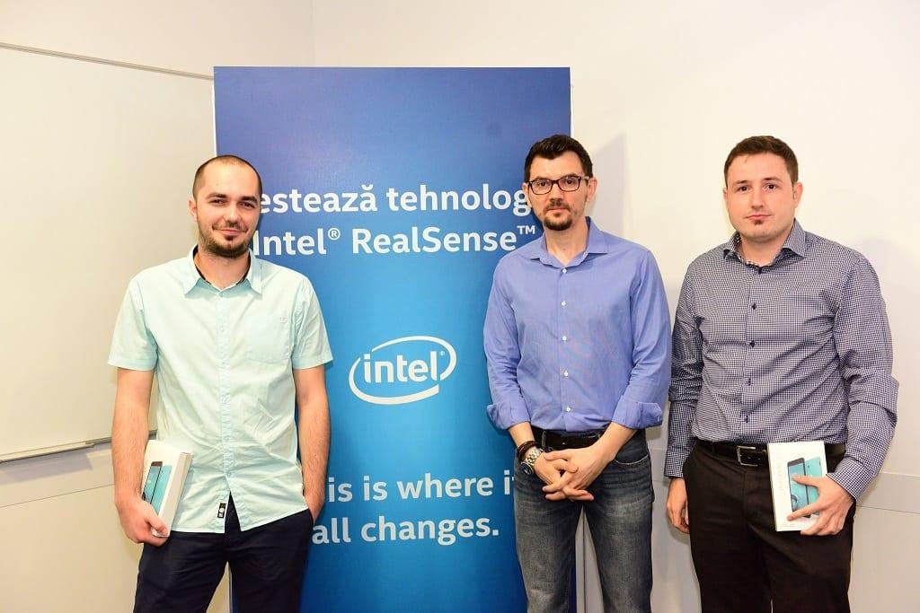 Echipa Badrobot si Bogdan Georgescu, Intel