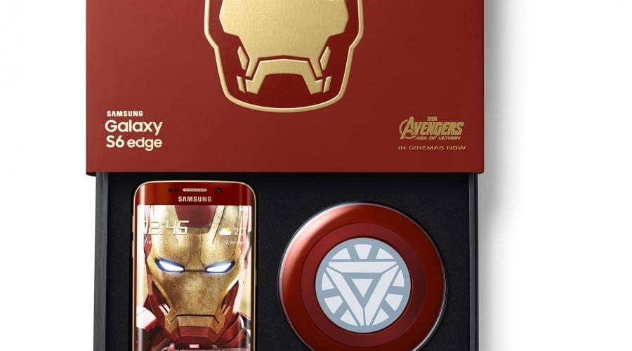 Samsung lansează Galaxy S6 edge Iron Man Limited Edition