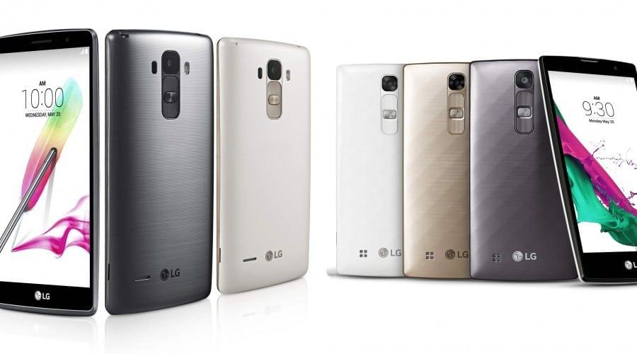 LG prezintă smartphone-urile G4 Stylus și G4c
